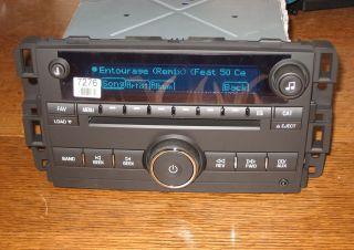 Unlocked Chevy Impala 6 CD Changer Radio 3 5mm Aux iPod Input MP3 Plug Play