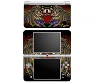WL2 Nintendo DS DSi 3DS XL Decal Skin Sticker Cover Traditional Tattoo 2