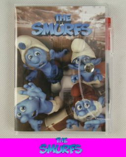 The Smurfs Notebook Note Book w Pen Papa Brainy Gutsy C