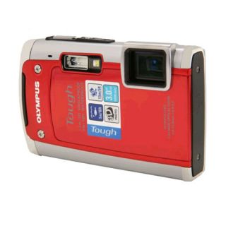 Olympus TG 610 14MP Digital Camera Red TG610 228085