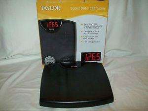 Taylor Super Brite LED Scales Model 9876B