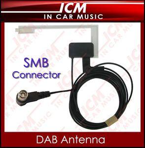 DAB DAB Glass Mount Aerial Car Antenna for JVC Kenwood Sony Car Radio Receivers