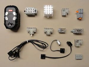 14 Lego Electric Motor 9V 9 V 9 Volt NXT Technic Parts Sensors Wires