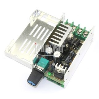 Stepless PWM 15kHz Variable Fan Motor Speed Controller Switch DC 12V 60V 24V 36V