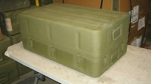 Aluminum Military Medical Chest 32x20x13 Watertight Survival Bug Out Storage Box