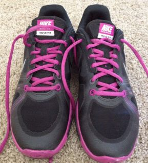 Nike Training Movefit Tennis Shoes Women Size 8 Running Pink Black