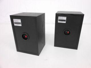 Sony SS B1000 5 1 8 inch Bookshelf Speakers Pair