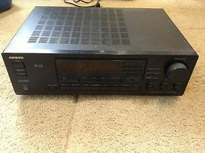Onkyo TX SV454 Audio Video Control Tuner Amplifier Am FM Stereo Receiver