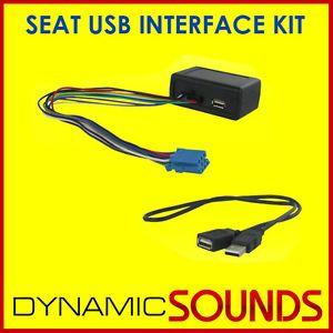 Seat Ibiza Toledo Leon Car Stereo  USB Interface Kit CTAVAGUSB002
