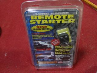 Bulldog Security Systems RS821 Remote Starter Kit for Your Car Brand New
