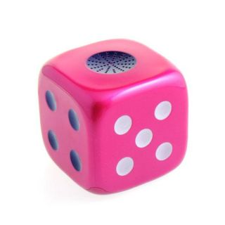 Mini Dice Speaker TF Card  USB Player Stereo Heavy Bass Speakers