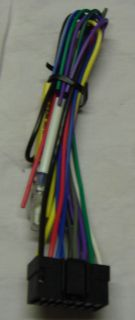 Sony in Dash Wire Harness CD  Plug Stereo 16 Pin Power Speaker Car Audio