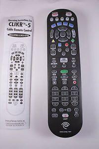Time Warner Cable Clikr 5 Universal Remote UR5U 8780L New SEALED w Batteries