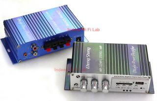 Hi Fi USB  SD Stereo Amp Amplifier Remote Control Car Motor Bike 12VDC HS9004
