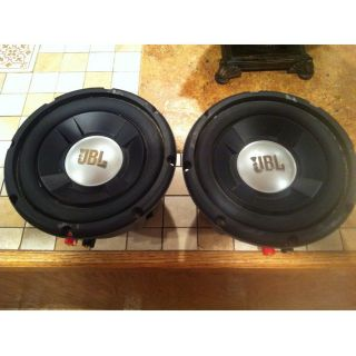 """2 JBL GTO 804 8"""" Grand Touring Car Sub Woofers Subwoofers Subs GTO804 1 Pair"""