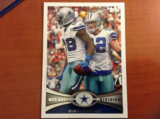2013 Topps Dallas Cowboys Card