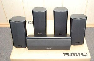 Aiwa SX AVR2900 Surround Sound 5 Piece Speaker System