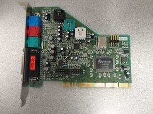 Turtle Beach TB400 3356 01 Dell 0005931D PCI Desktop Computer Sound Card
