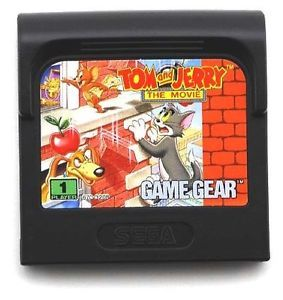 Tom and Jerry The Movie Sega Game Gear Video Game