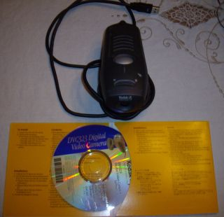 Digital Video Camera Kodak DVC323 CD and Instruction Manuals 2