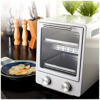 Electric Oven Toaster Mini Oven Magic Kitchen Home Baking Cooker Black White