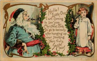 Vintage Santa Claus Postcards