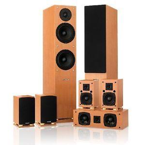 Fluance SX Series 7 0 Surround Sound Home Theater Speaker System
