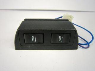 Universal 2 Door Power Window Switches w Cases Wiring Hot Street Rod Accessories