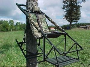 Tree Lounge Climbing Tree Stand 20 Quot Wheel Kit Nice Cond