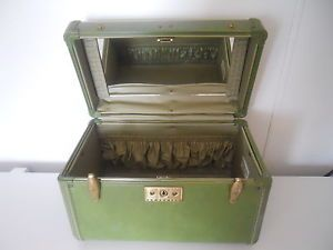 Vintage Samsonite Streamlite Travel Train Luggage Case