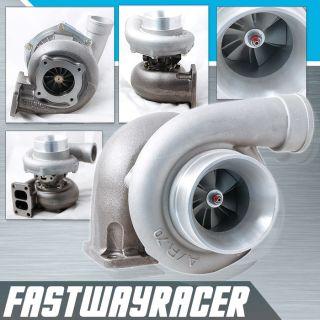 Universal GT35 T3 Turbo Manifold Flange Turbine 82AR Twin Scroll Turbo Charger