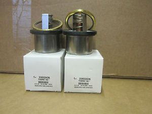 Detroit Diesel Thermostats for Old Style Series 60 50 2 w Seals 23532436