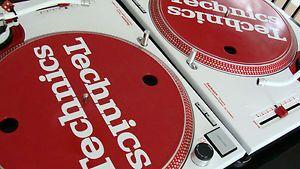 Custom Technics 1200 SL 1200MK2 MK2 MKII DJ Turntables RARE