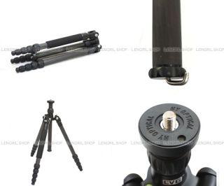 LVG C 115D Universal Convertible Carbon Fiber Tripod for Canon Nikon Sony Camera