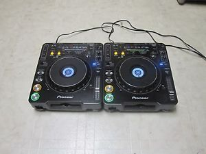Pair of Pioneer CDJ 1000 MK3 Turntables