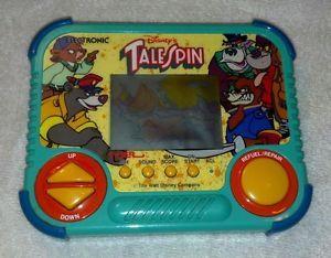 Disney's Talespin Handheld Video Game 1990 Tiger Electronics Working