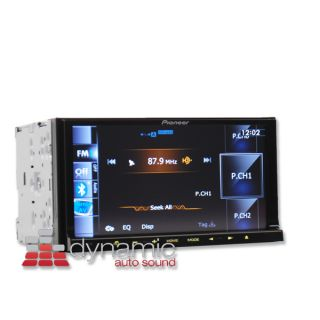 "Pioneer AVIC Z140BH in Dash 2 DIN 7"" Navigation Receiver w BT and HD Radio Tuner"