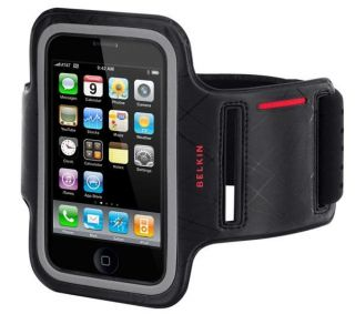 New Belkin Dualfit Armband Case Cover iPhone 3G 3GS Black Red F8Z459EA