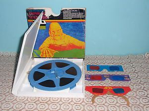 "3D ""Creature from The Black Lagoon"" Super 8 Sound Film w 3D Glasses"