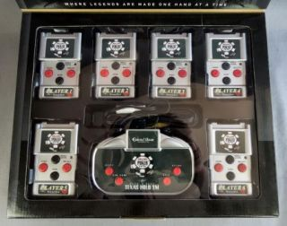 Wireless Plug Play 6 Player Texas Hold 'Em Poker Video Game New in Package