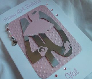Handmade Daughter Granddaughter Friend Niece 18th 21st 30th 40th Birthday Card