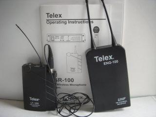 Telex Eng 100 UHF Wireless Microphone System