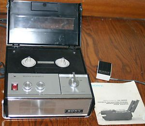Sony O Matic TC 900 Solid State Reel to Reel Tape Recorder Microphone Manual