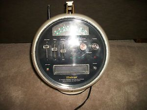Vtg Mid Century Weltron 8 Track Stereo Am FM Multiplex Solid State Space Dome