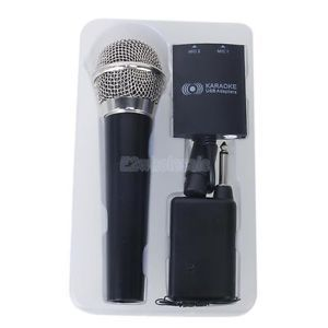 Wireless Karaoke Microphone Mic for Wii U Wii PS2 PS3 Xbox 360 PC Host Console