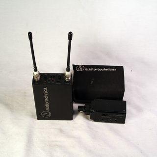 Audio Technica ATW R100X ATW T102X Wireless Microphone System