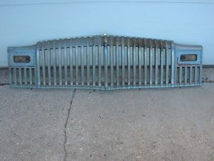 1946 47 48 Dodge DeSoto Full Chrome Grill with Halves Restorable Rat Rod Grille