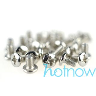 "50 Pcs M3 x 5mm Phillips Pan Head Screw for 2 5"" HDD SSD DVD ROM Motherboard"