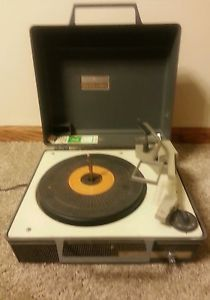 General Electric Solid State Automatic Portable Record Player