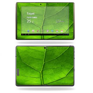 Skin Decal Sticker for Asus Eee Pad Transformer Prime TF201 Green Leaf